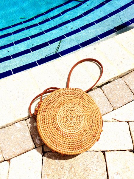 Wicker Purse